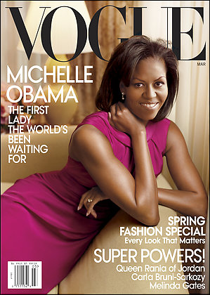Michelle obama- vogue cover